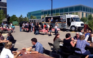 Mobile Catering in Calgary With Ranch BBQ Food Truck - Business Park Stampede Catering