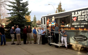 Mobile Catering in Calgary With Ranch BBQ Food Truck - at a private house party