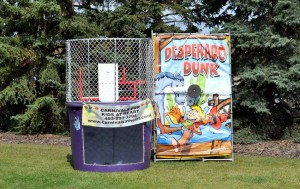 South of Calgary Catering Facility Event Activity Ideas - Dunk Game ideas